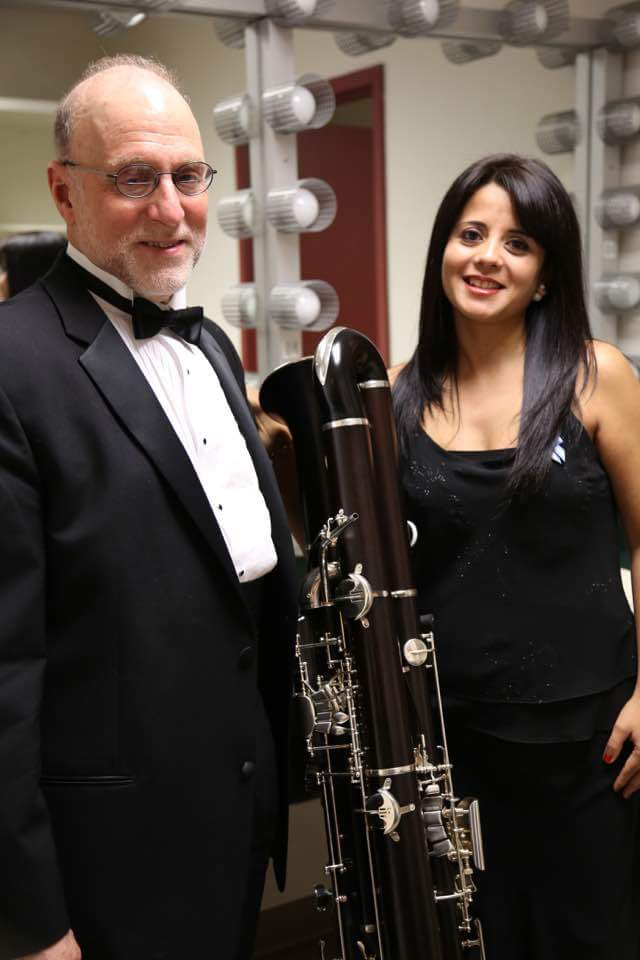 With Lewis Lipnick, Bassoonist and Contrafortist of the NSO of Washington