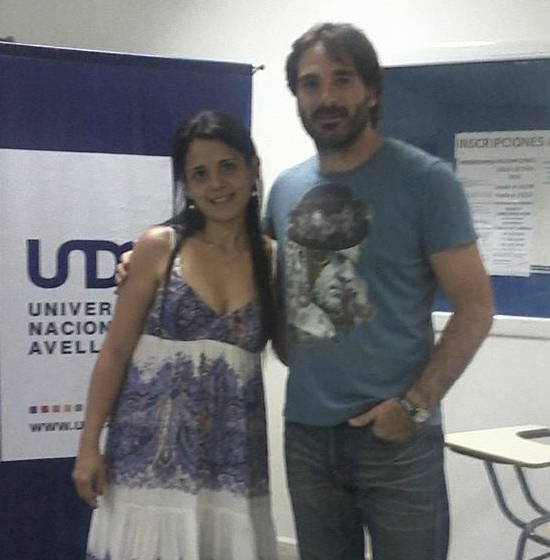 With Director Ignacio García Vidal